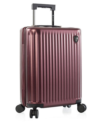 Heys Smart Luggage 21-Inch Carry-On-BURGUNDY-21