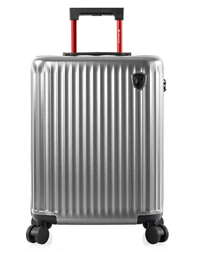 Heys Smart Luggage 21-Inch Carry-On-SILVER-21