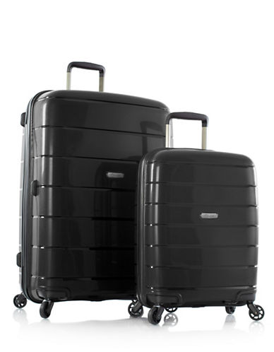Heys Eos Two-Piece Luggage Set-BLACK-2 Piece