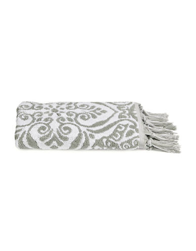 Jessica Simpson Sunita Cotton Hand Towel-GREY-Hand Towel