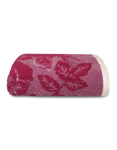 Jessica Simpson Siena Flower Hand Towel-VIOLET-Hand Towel