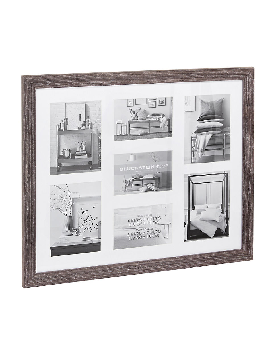 Fitzroy Wood Photo Collage Wall Frame
