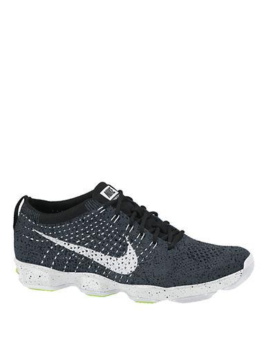 Nike Flyknit Zoom Running Sneakers-BLACK/WHITE-6 87434361_BLACK/WHITE_6