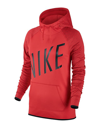 Nike Graphic Thermal Hoodie-RED-Medium 88565208_RED_Medium