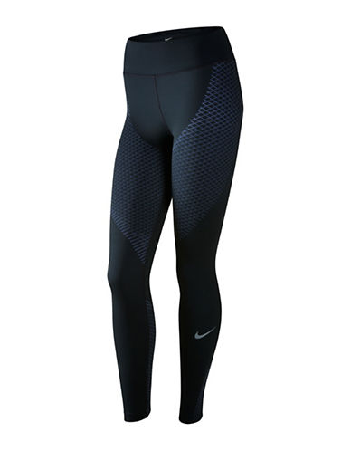 Nike Dri-FIT Zoned Compression Tights-BLUE-X-Small 88952353_BLUE_X-Small