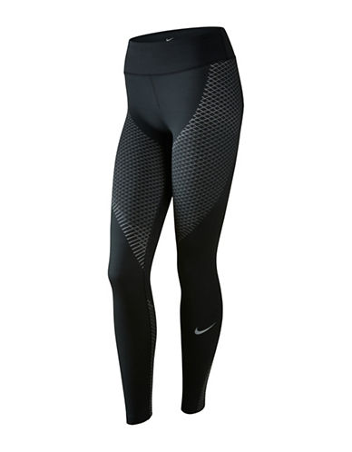 Nike Dri-FIT Zoned Compression Tights-BLACK-Medium 88952360_BLACK_Medium