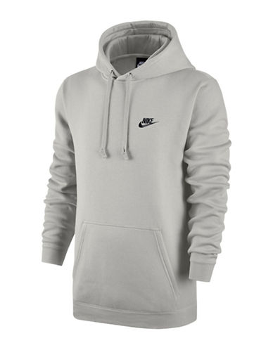 Nike Sportswear Fleece Club Hoodie-BEIGE-Medium