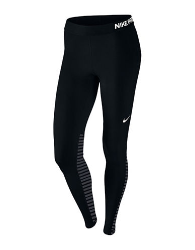 Nike Pro Warm Tights-BLACK-Large