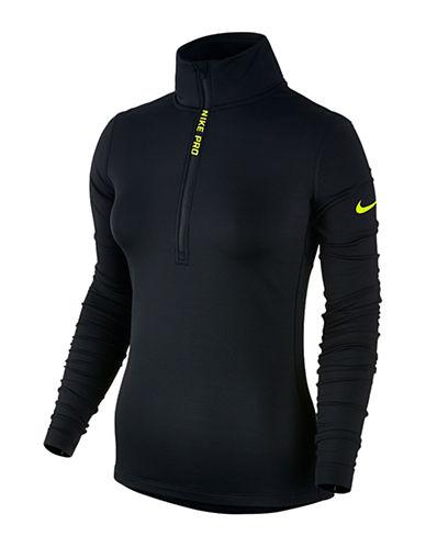 Nike Hyperwarm Half Zip Sweater-BLACK-Small 88757846_BLACK_Small