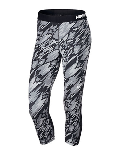 Nike Pro Cool Overdrive Capri Leggings-BLACK-X-Large 88755800_BLACK_X-Large