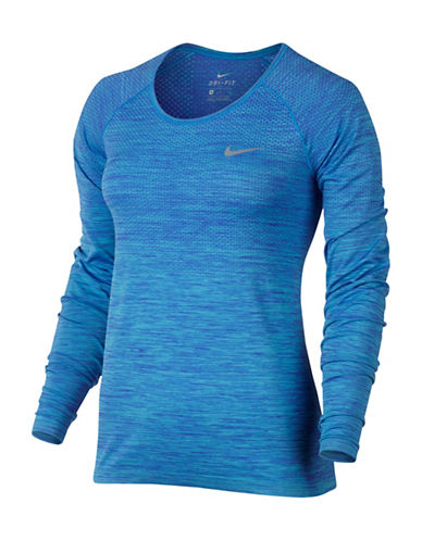 Nike Dri-FIT Knit Top-BLUE-X-Small 88952383_BLUE_X-Small