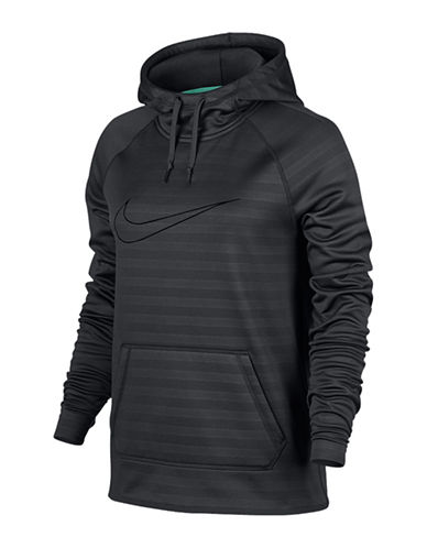 Nike All Time Embossed Stripe PO Hoodie-ANTHRACITE-X-Small 88755801_ANTHRACITE_X-Small