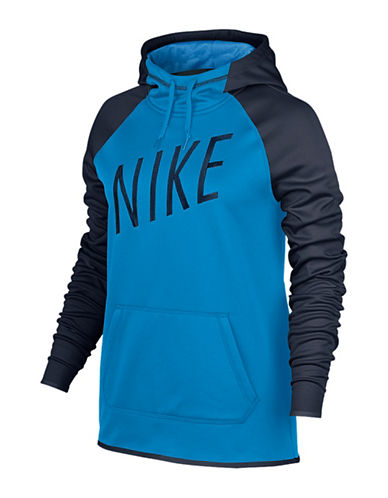 Nike Thermal Graphic Hoodie-BLUE-X-Small 88755815_BLUE_X-Small