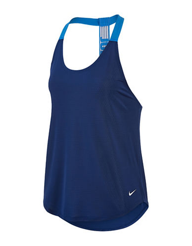 Nike Elastika Elevate Training Tank Top-BLUE-X-Large 88719207_BLUE_X-Large