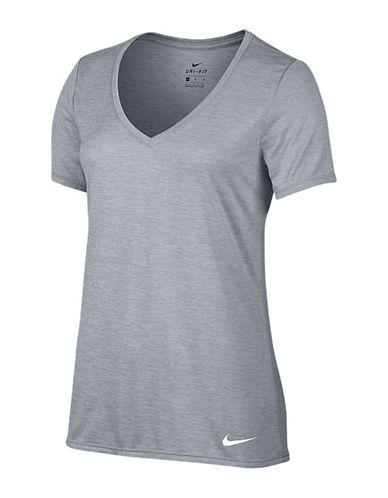 Nike Legend Dri-FIT Single-Knit Jersey T-Shirt-WOLF GREY-Medium 88838160_WOLF GREY_Medium
