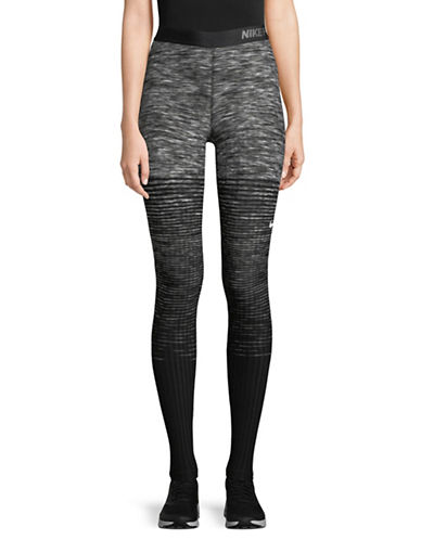 Nike Pro Hyperwarm Training Tights-GREY-X-Large 89655444_GREY_X-Large