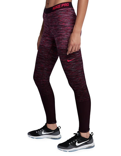 Nike Hyperwarm Tights-PINK-Large