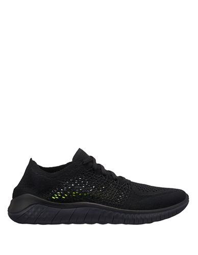 Nike Free RN Flyknit Running Shoes-BLACK-10 89978754_BLACK_10