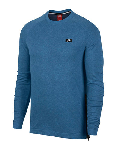 Nike Sportswear Modern Crew Neck Sweatshirt-BLUE-XX-Large 89848032_BLUE_XX-Large