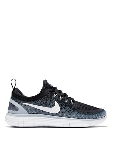 Nike Free RN Distance 2 Running Shoes-BLACK-8 89006687_BLACK_8