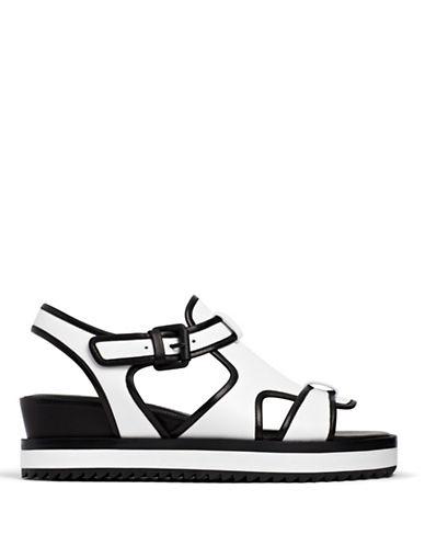 Opening Ceremony Tati Flatform Sandals-WHITE-10
