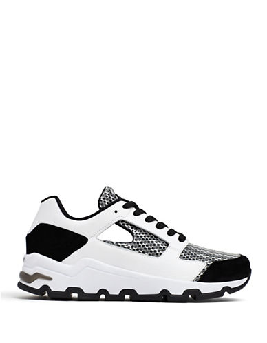 Opening Ceremony Almma Mesh Athletics Shoes-WHITE-9