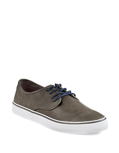 Hudson North Erasme Perforated Sneakers-GREY-EU 43/US 10