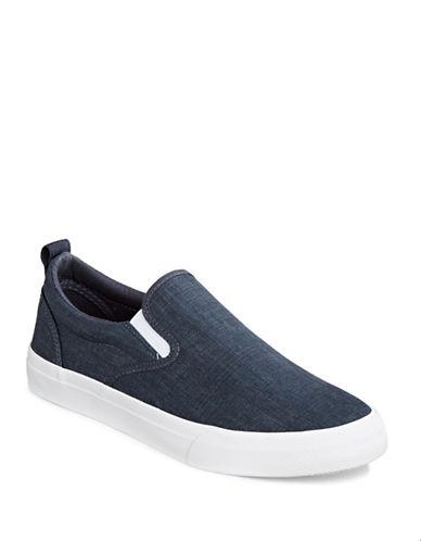 Hudson North Venalia Canvas Sneakers-NAVY-EU 42.5/US 9.5
