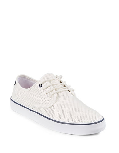 Hudson North Erasme Perforated Sneakers-WHITE-EU 41/US 8
