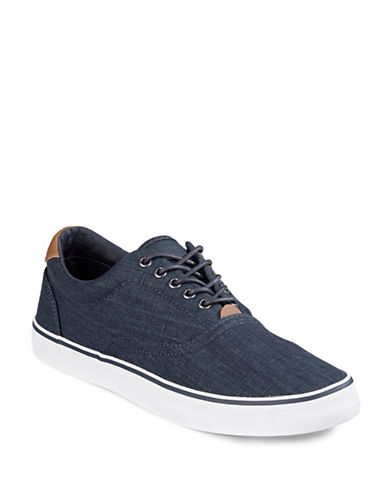 Hudson North Rene Canvas Sneakers-NAVY-EU 41.5/US 8.5