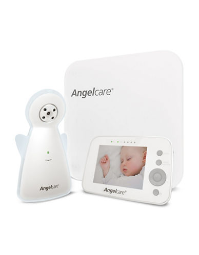 Angelcare AC1300 Video Movement and Sound Monitor-WHITE-One Size