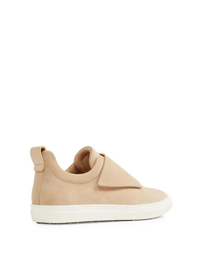 Aldo Forsivo Leather Sneakers-COGNAC-7.5