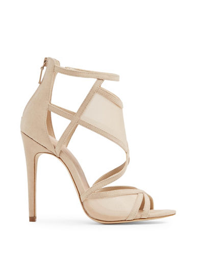 Aldo Gabea Caged High Heel Sandals-BONE-6.5