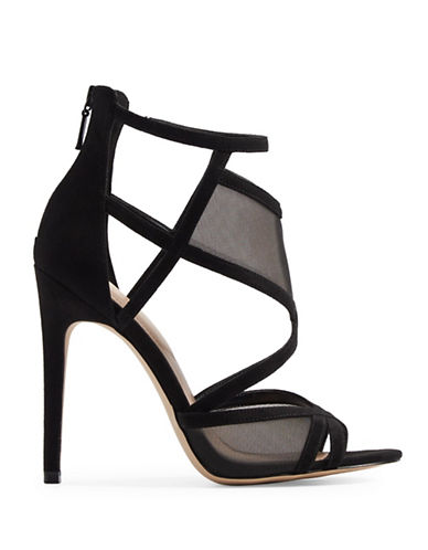 Aldo Gabea Caged High Heel Sandals-BLACK-9