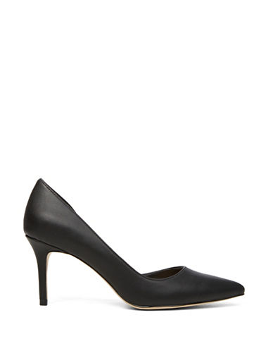 Call It Spring Toppen Partial dOrsay Pumps-BLACK-9