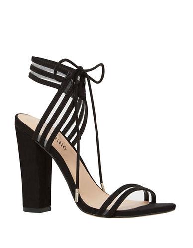 Call It Spring Astoressi Mesh-Inset Sandals-BLACK-10