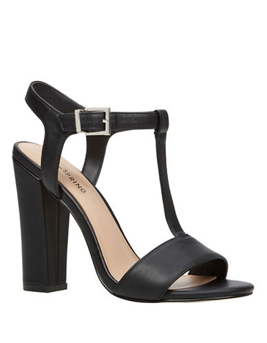 Call It Spring Deeks High-Heel Sandals-BLACK-9