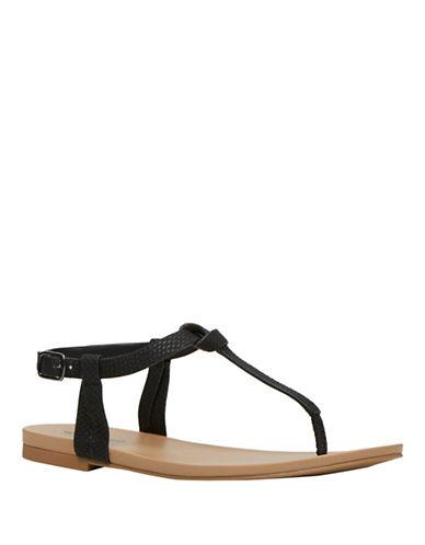 Call It Spring Paci Flat Sandals-BLACK-10