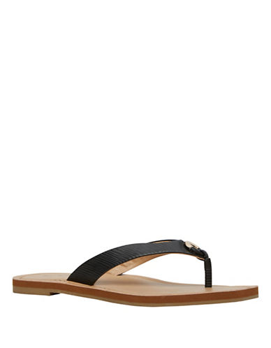 Call It Spring Thiniel Flat Sandals-BLACK-7