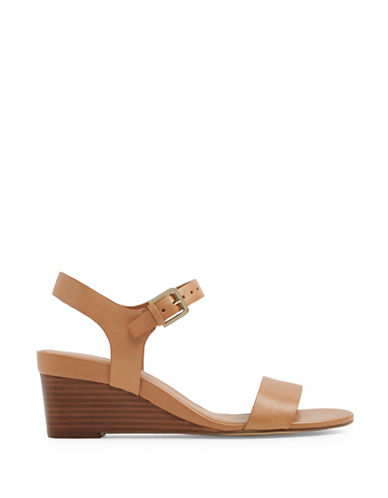 Aldo Orphelia Two-Piece Wedge Sandal-COGNAC-8.5