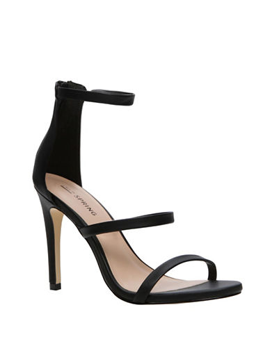 Call It Spring Astoelian Stiletto Sandals-BLACK-7