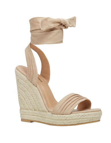 Call It Spring Cadoilla Espadrille Wedge Sandals-BONE-10