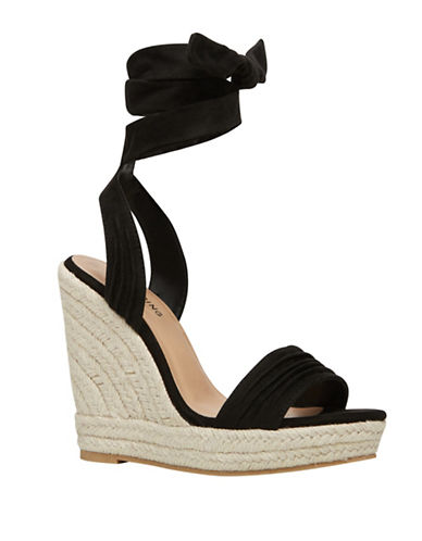 Call It Spring Cadoilla Espadrille Wedge Sandals-BLACK-7