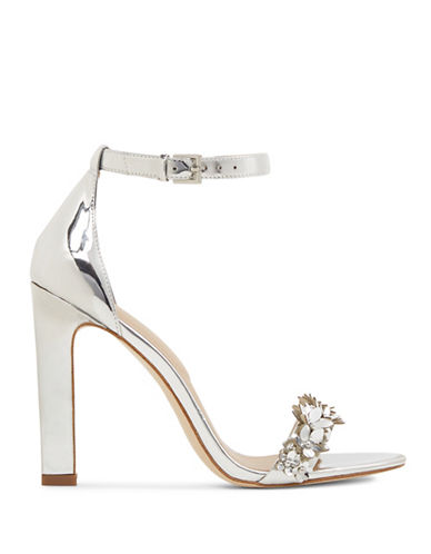 Aldo Milaa High Heel Sandals-SILVER-7.5