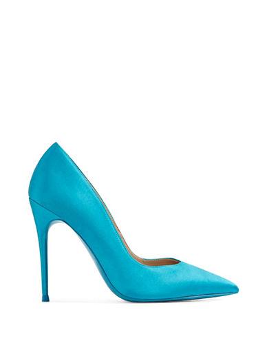 Aldo Aleani Pointed Toe Pumps-BLUE-9