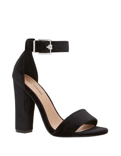 Call It Spring Arther Block Heel Sandals-BLACK-10