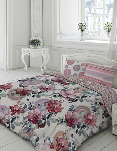 Gouchee Design Carmela Duvet Cover Set-PINK-King
