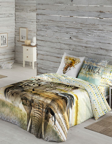 Gouchee Design Kito Safari Gouchee Design Duvet Cover Set-MULTI-King