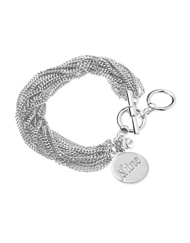 Foxy Originals Shine Toggle Bracelet-SILVER-One Size