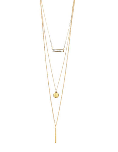Foxy Originals Live Your Dream 14K Goldplated Convertible Necklace-GOLD-One Size
